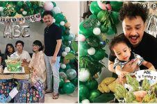 8 Momen ulang tahun ke-2 anak Giring Nidji, bertema jungle