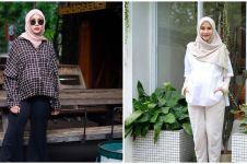 10 Inspirasi outfit bumil ala Zaskia Adya Mecca, simpel & elegan