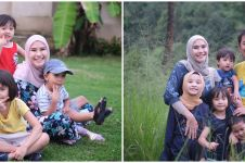 Pesan Zaskia Mecca tentang hari tua untuk 4 anaknya, menyentuh