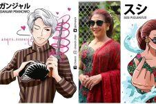 Ilustrasi 12 pejabat Indonesia jadi anime, bikin pangling