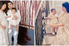 5 Potret baby bump Anissa Aziza, stylish dan elegan