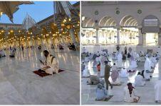 7 Potret Masjid Nabawi dibuka usai ditutup selama pandemi Covid-19