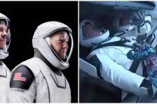 4 Fakta peluncuran SpaceX ke luar angkasa, sempat tertunda cuaca buruk