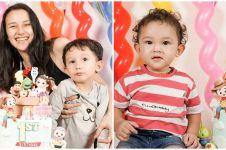 7 Momen ulang tahun putri Fandy Christian, bertema Toy Story
