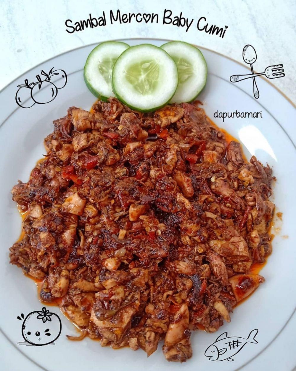 Resep sambal cumi © 2020 brilio.net Instagram/@galeri_dapurami