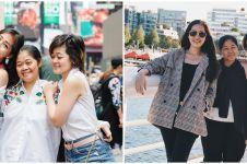 10 Potret kebersamaan Gracia Indri dan Gisela Cindy bareng ibunda