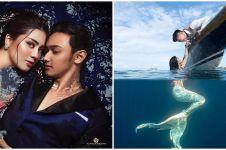 Potret kemesraan 6 pasang seleb pemotretan di dalam air, romantis