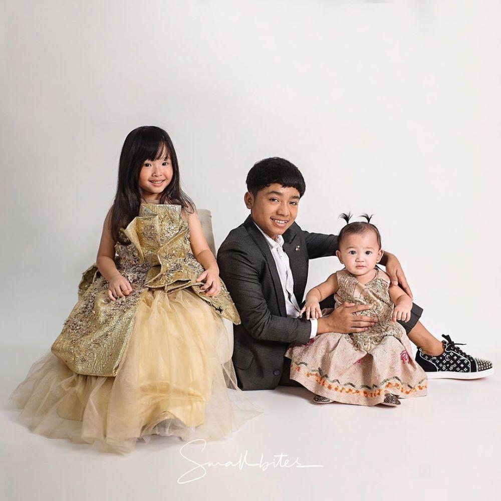 Gaya pemotretan 3 anak Ruben Onsu bikin gemas © 2020 brilio.net
