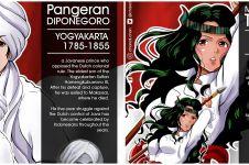 10 Ilustrasi anime pahlawan Indonesia, tak kalah keren dari superhero