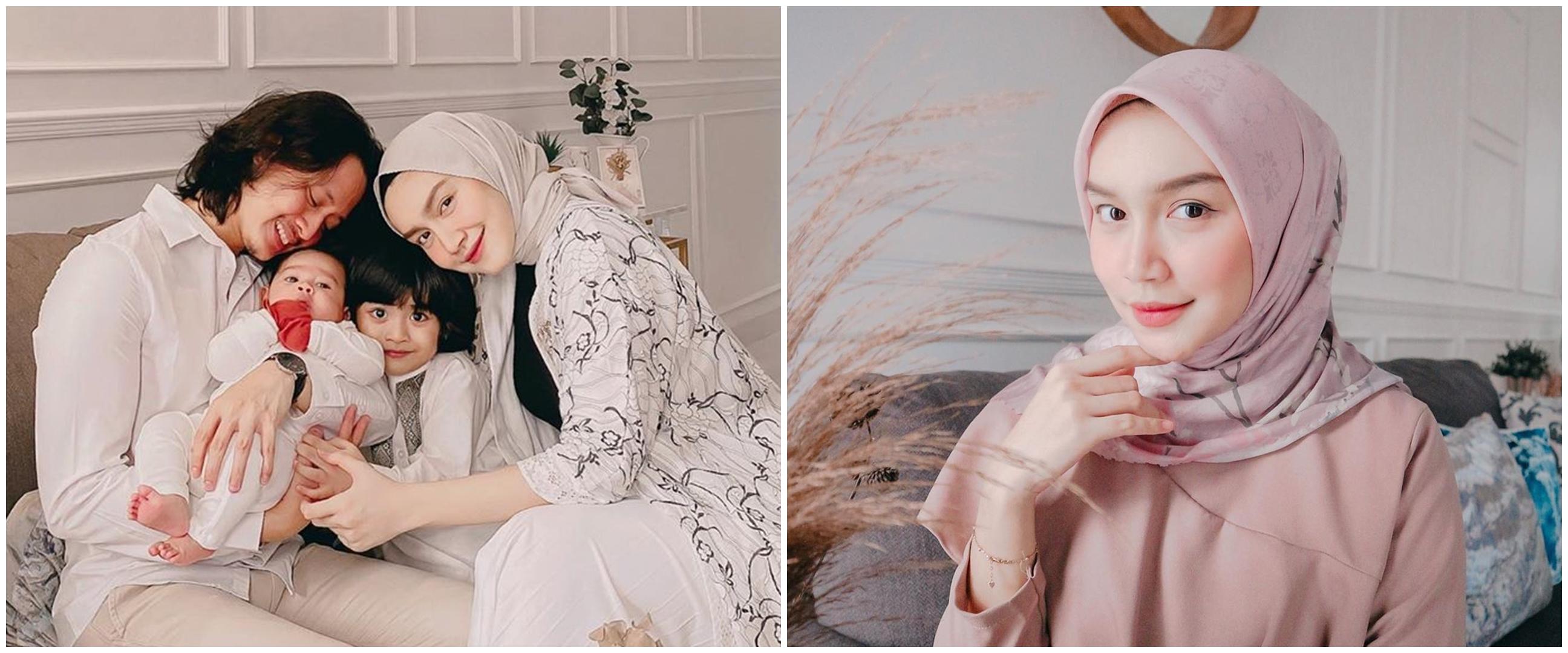 7 Potret rumah Melody Prima bernuansa putih, Instagramable abis