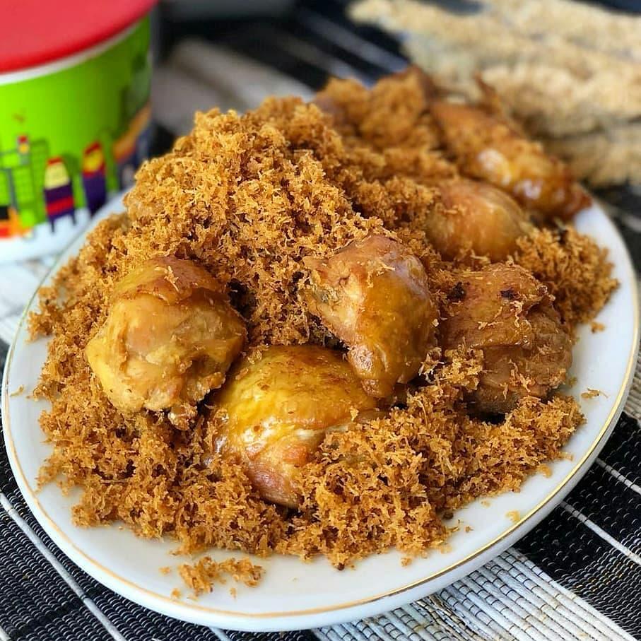 kreasi ayam goreng serundeng berbagai sumber