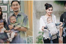 7 Momen baby spa anak kembar Syahnaz Sadiqah, dilakukan di rumah