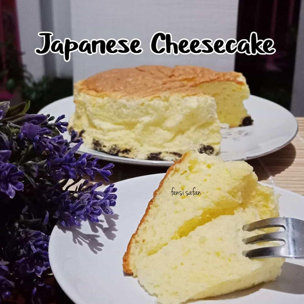 Resep japanese cake © 2020 brilio.net