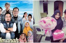 Momen 9 pemain Amanah Wali 4 bareng pasangan asli, bikin baper