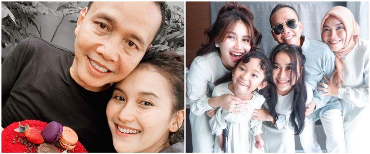 Rayakan ulang tahun ke-58, ini alasan ayah Ayu Ting Ting menangis