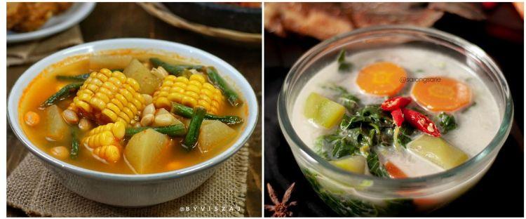 13 Resep sayur berkuah, enak, praktis dan mudah dibuat