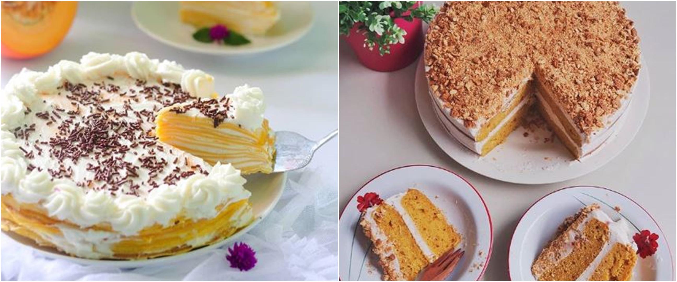 10 Resep kreasi kue berbahan labu, enak, sehat dan mudah dibuat