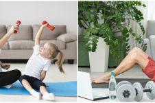 11 Manfaat push up dan sit up untuk kesehatan selama di rumah