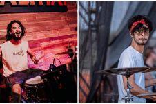 10 Potret Nicko Prabowo, drummer metal adik Widy Vierratale