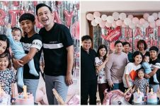 10 Potret dekorasi imut pesta ulang tahun Thalia & Thania Putri Onsu