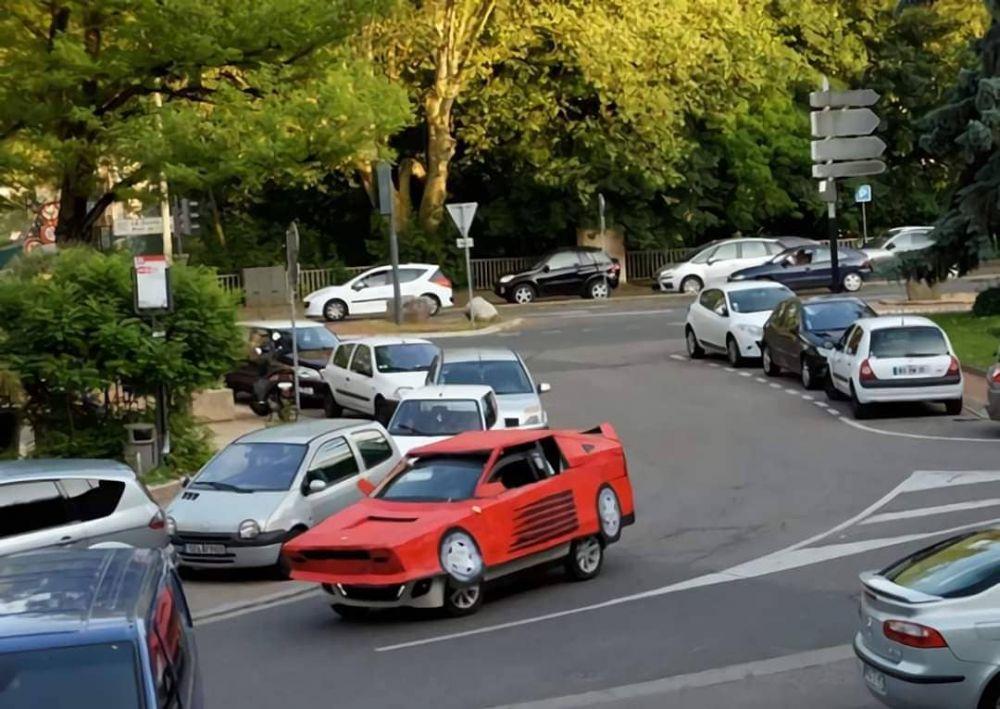 penampakan mobil nyeleneh © 2020 instagram.com
