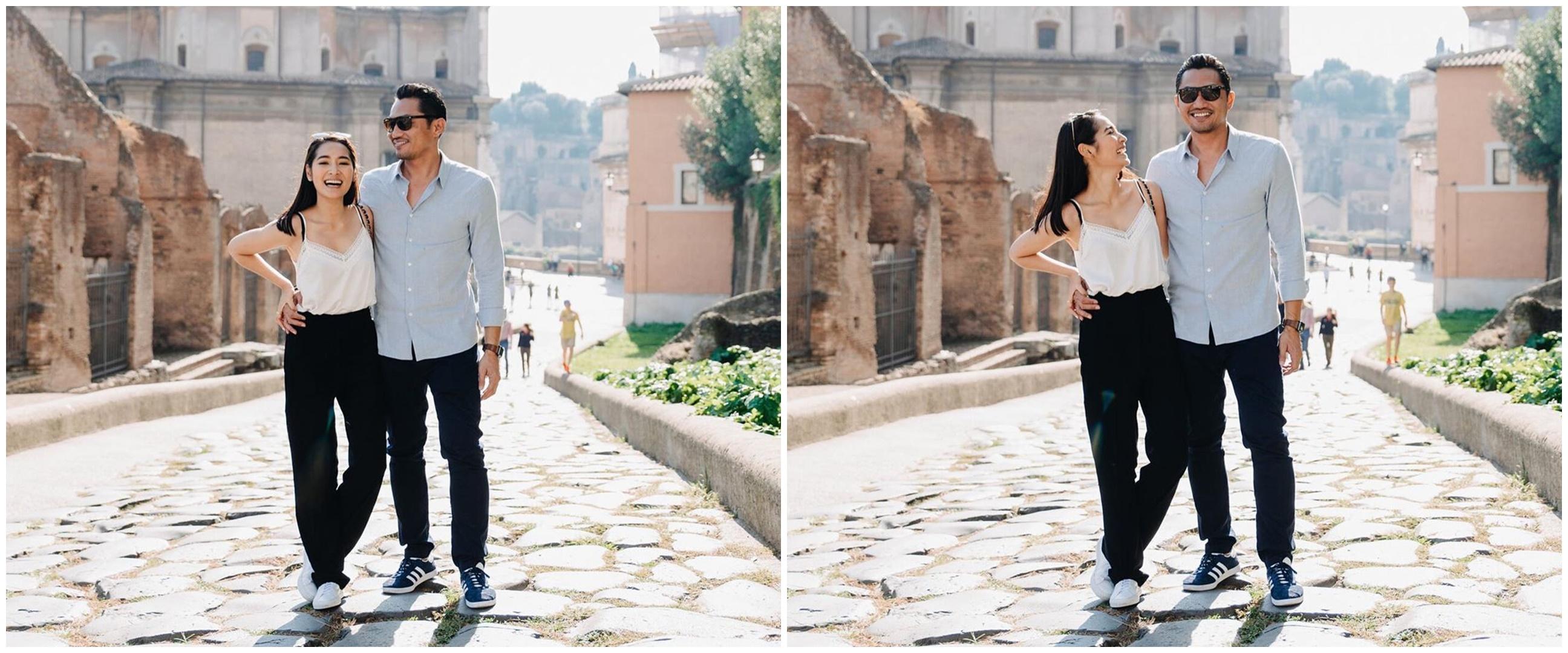 10 Momen pernikahan Niken Anjani & Adimaz Motik, digelar tertutup