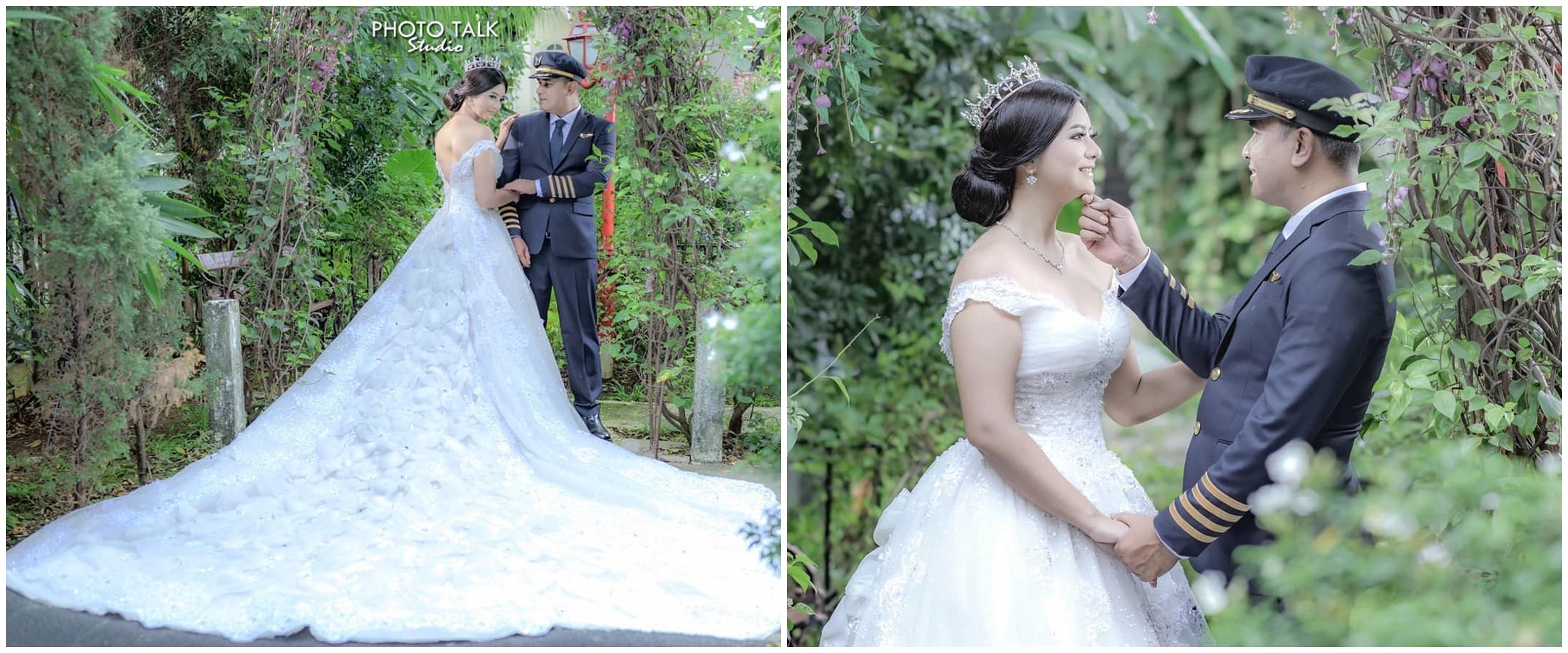 7 Momen pernikahan Qory Sandioriva, dipersunting pilot