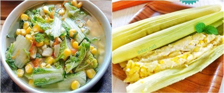 10 Resep olahan makanan jagung manis, lezat, dan bergizi