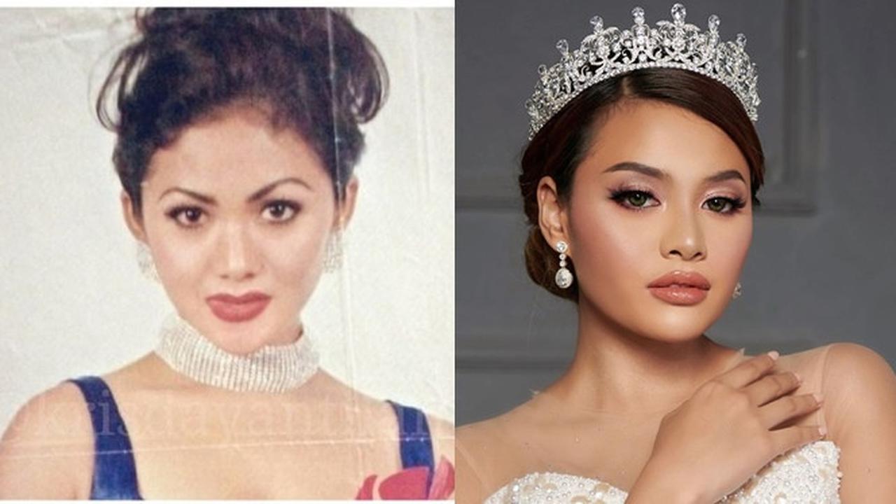 6 Beda gaya potret remaja Krisdayanti dan Aurel Hermansyah, memikat