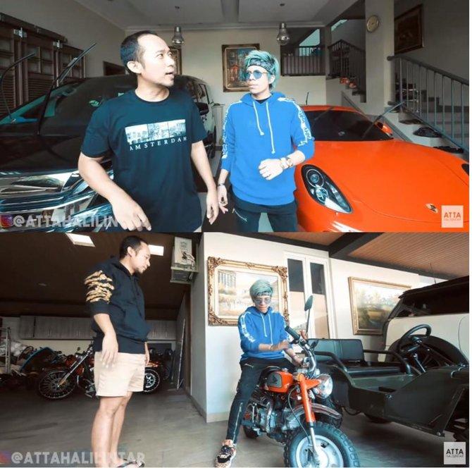 penampakan garasi mewah presenter pria © 2020 brilio.net