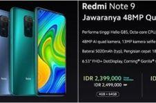 5 Fakta Redmi Note 9 yang baru rilis di Indonesia