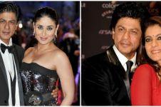Pasangan di film, 5 seleb cantik ini ungkap sosok asli Shah Rukh Khan