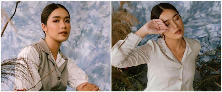 Putuskan ubah penampilan, ini 5 potret Ana Octarina berhijab