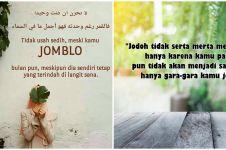 50 Kata-kata jomblo Islami, bijak banget dan berkelas