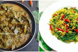 9 Resep sayur daun singkong enak, praktis dan bikin nagih