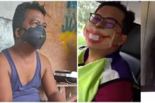 10 Momen lucu bapak-bapak pakai masker ini bikin tepuk jidat