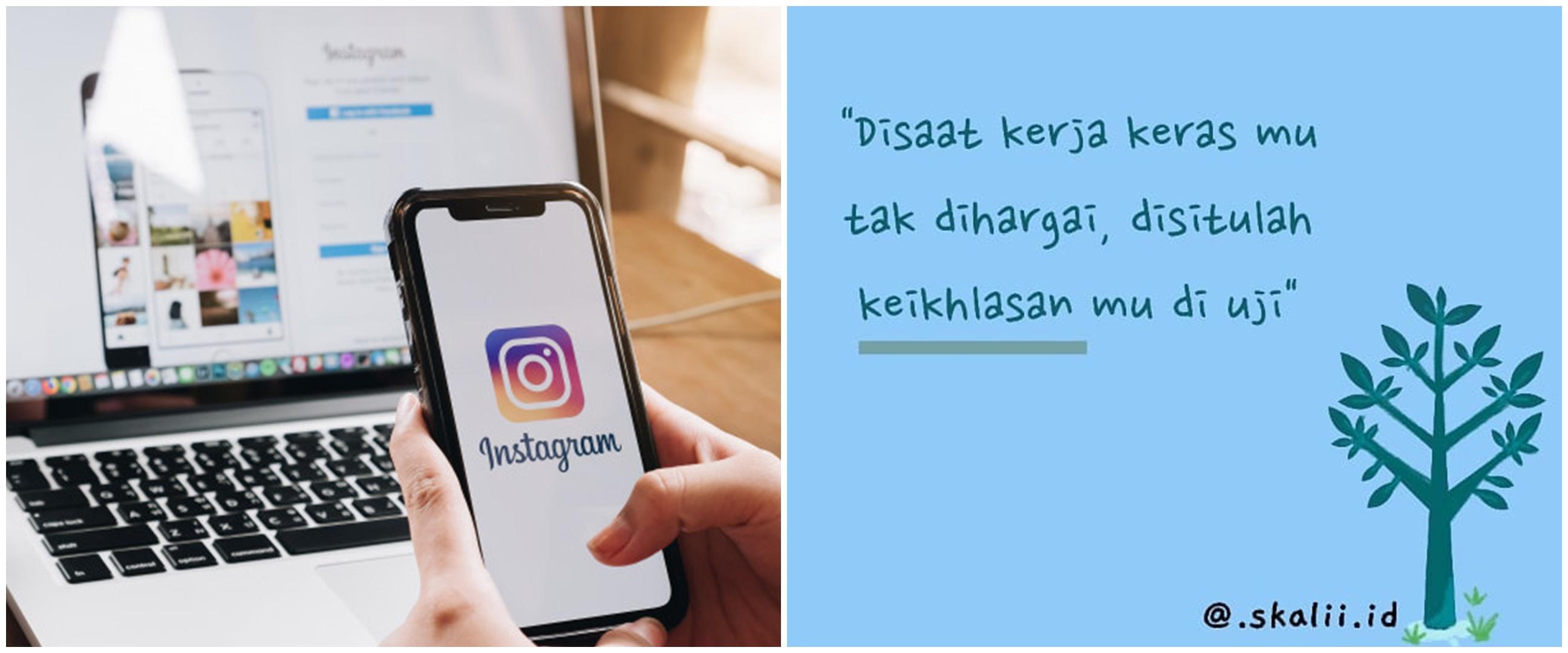 60 Bio Instagram keren, lucu, kekinian, bikin follower bertambah
