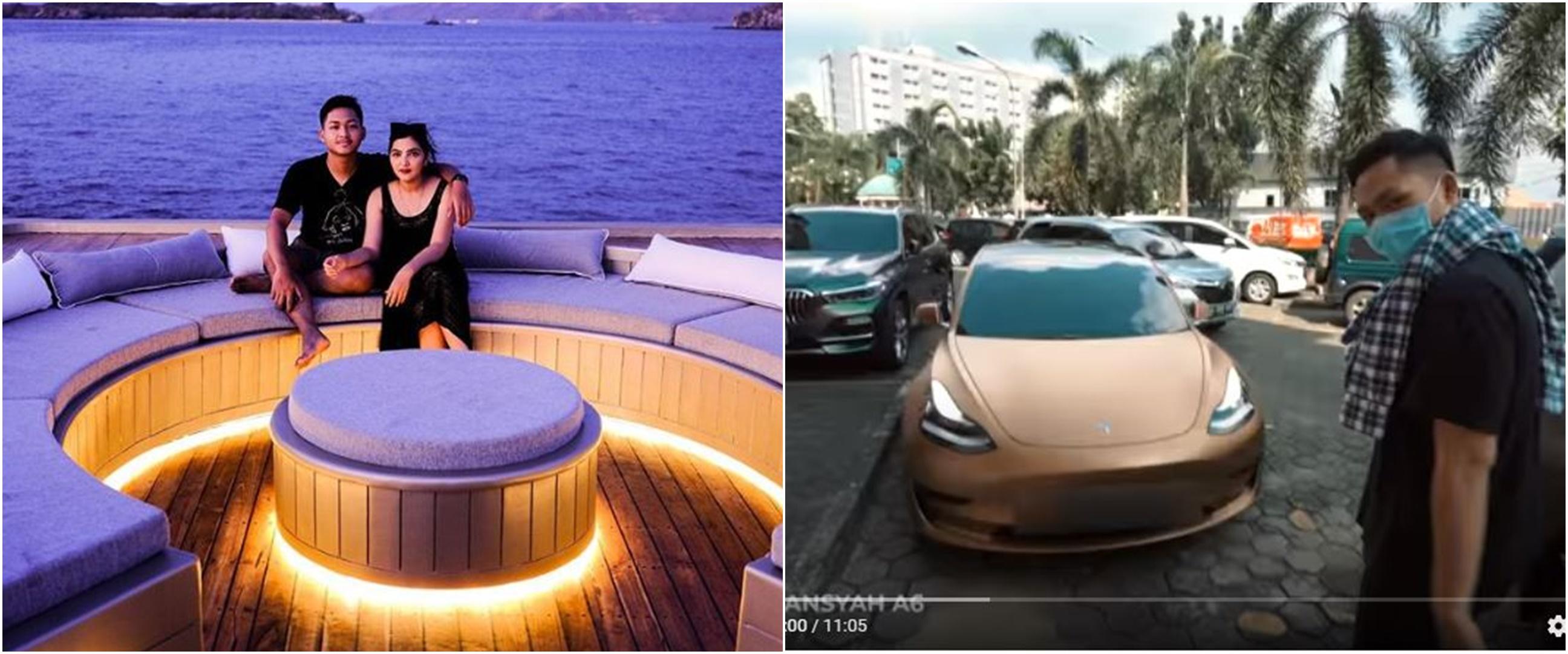 Ashanty beli mobil mewah demi obati kesedihan Azriel Hermansyah