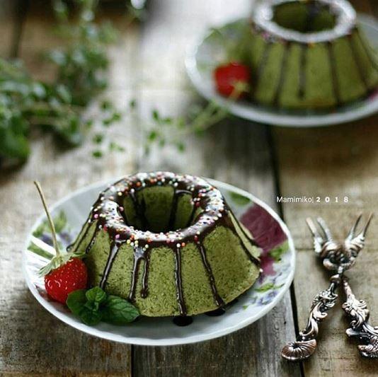 Resep kue rasa matcha enak dan kekinian © 2020 brilio.net