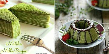 10 Resep kue rasa matcha, enak dan kekinian