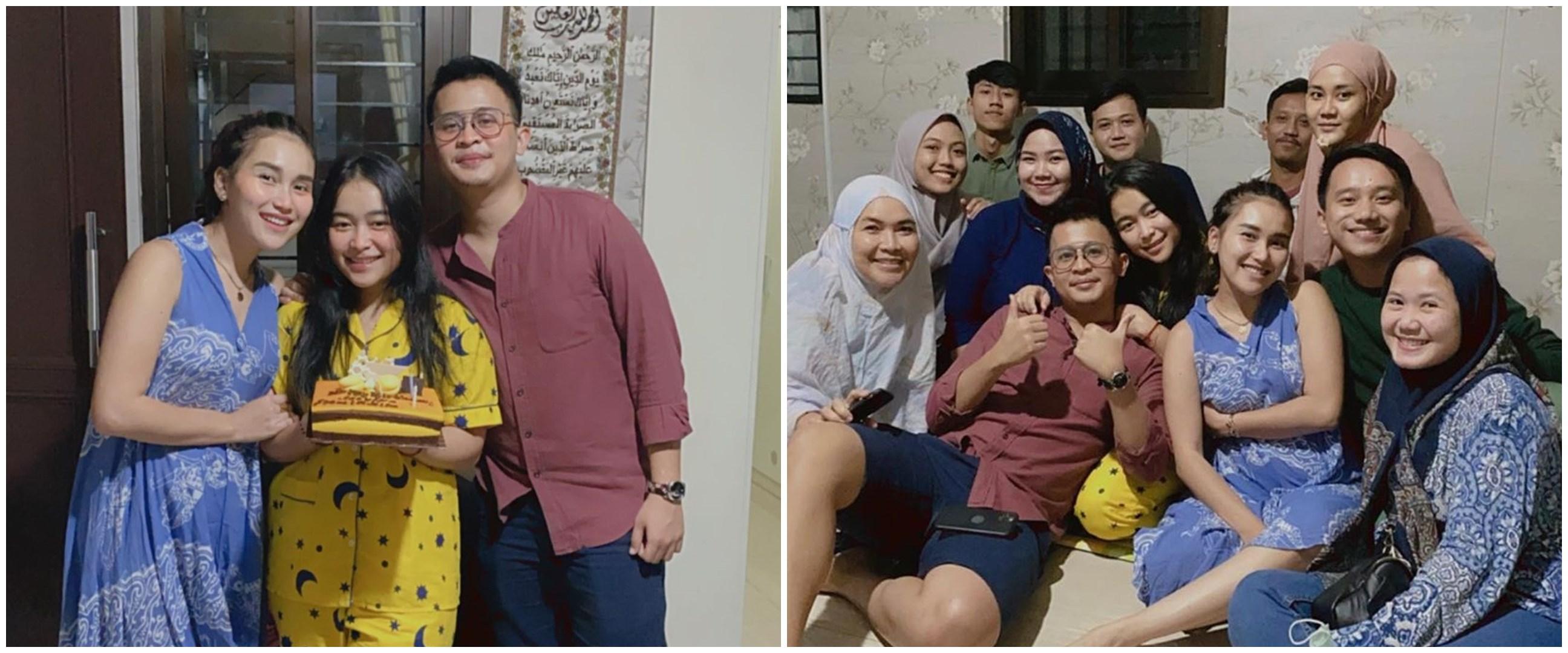 6 Potret ulang tahun Syifa adik Ayu Ting-Ting, dapat kejutan manis