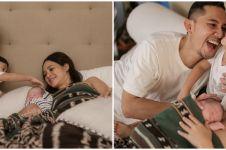 10 Momen Andien Aisyah saat melahirkan anak kedua, penuh perjuangan
