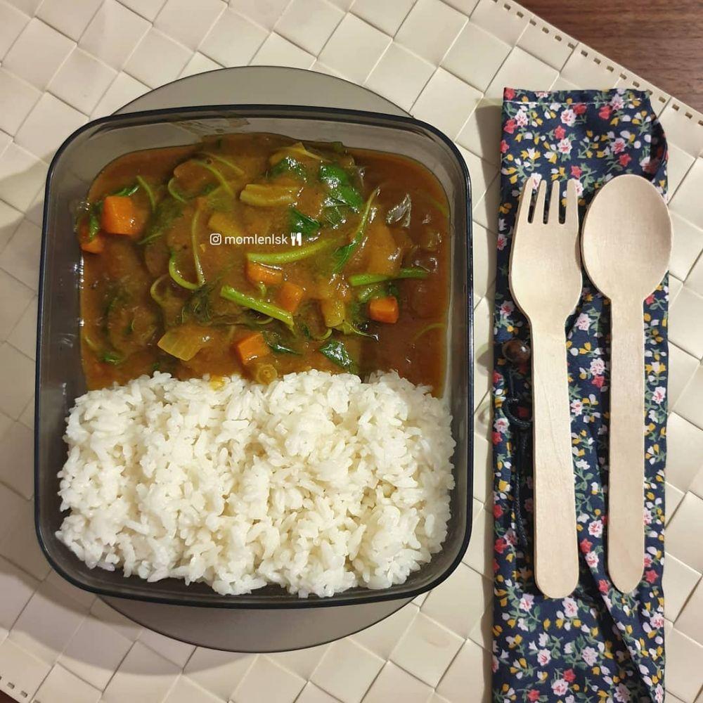 Bekal makan siang berbagai sumber