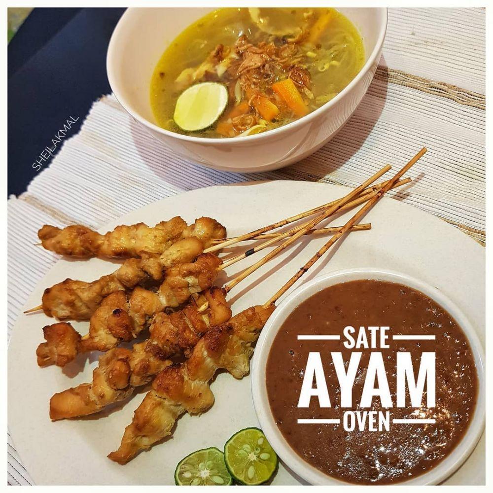 Resep sate ayam © 2020 brilio.net