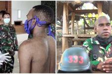 7 Potret Dwi Cahyono, anggota TNI asli Papua yang viral