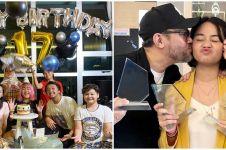 8 Potret perayaan ulang tahun anak Mona Ratuliu, berbagi ke sesama