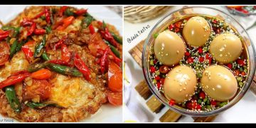 10 Resep telur kecap spesial, lezat, enak dan sederhana