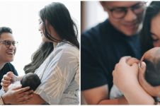 7 Potret kamar bayi Arief Muhammad, serba putih dengan ornamen jerapah