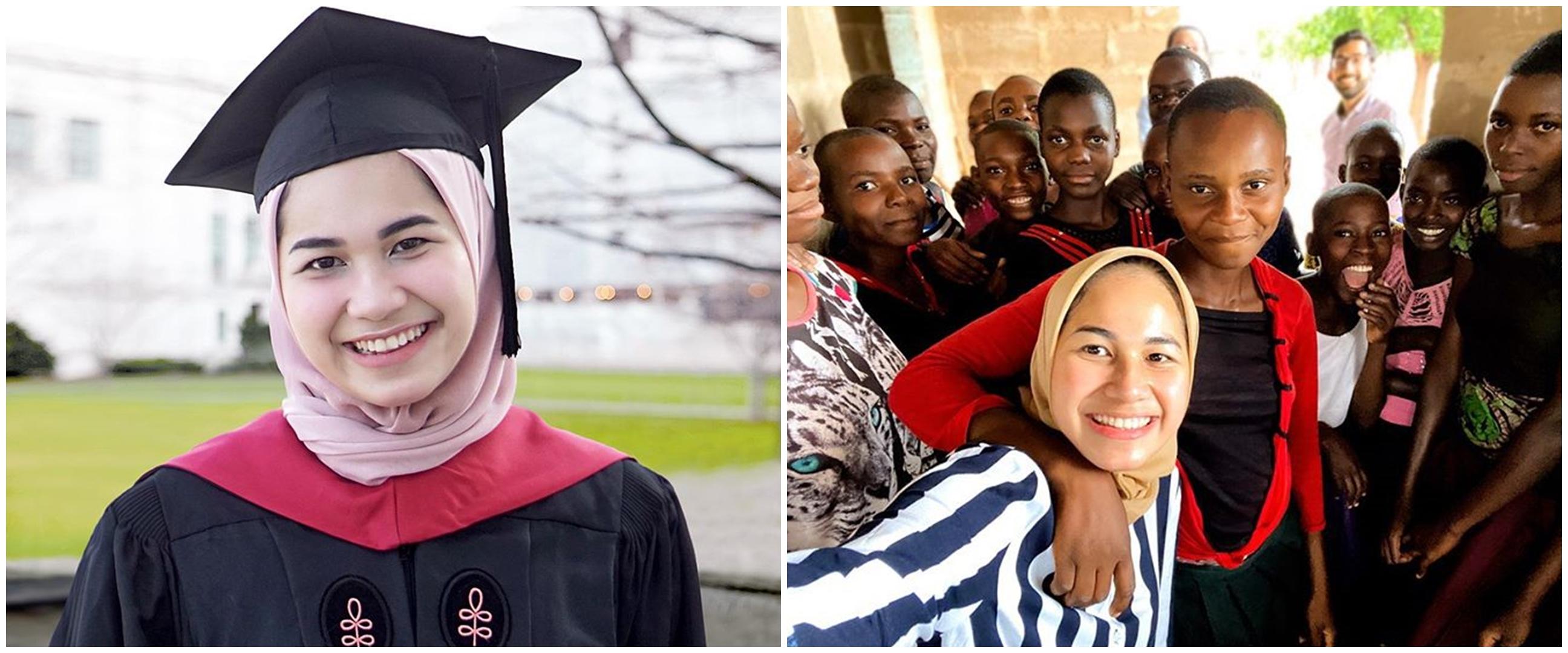 10 Potret Nadhira Afifa, viral baca pidato wisuda online di Harvard