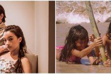 8 Potret masa kecil Megan Domani dan Bryan Domani, kompak & mirip